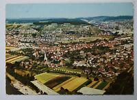 Schöne alte Ansichtskarte AK - Neckarelz alte Luftaufnahme