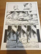 More details for 2000ad original comic art missionary man alex ronald 98