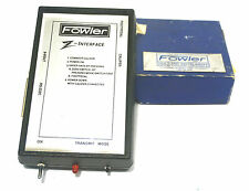 NEW FOWLER RS-232C Z-INTERFACE RS232C