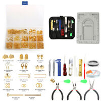 Jewellery Making Starter Kit Findings Wire Pliers Bead Design Board Tools Set