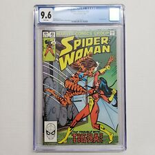 Spider-Woman #49 CGC 9.6 White Pages Marvel Comics The Trouble With Tigra