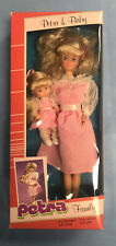 European Petra Family Doll Petra And Baby NIB Barbie/heart family  Size NRFB
