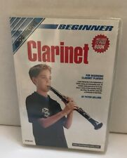 Beginner Clarinet With 72 Page Booklet - DVD - Color Ntsc - Brand New- RARE