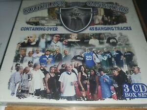 Southland gangsters Box set rear Cds chicano rap 3 cds