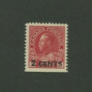 1926 Canada Postage Stamp #139 Mint Hinged VF Original Gum