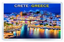 CRETE GREECE MOD2 FRIDGE MAGNET SOUVENIR IMAN NEVERA