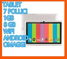 TABLET PC 7 POLLICI M1 QUADCORE ANDROID WIFI 3G DUAL CAMERA NO SIM CUSTODIA 10