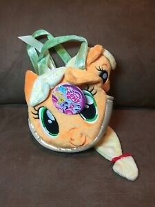 My Little Pony Applejack Carrier with 6.5-Inch Plush New With Tag