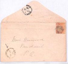 BL264 Commonwealth 1878 CANADA *Trenton Ontario*CDS Cover {samwells} PTS