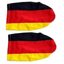 Deutschland Flagge für Auto Außenspiegel Überzug Fahne KFZ Fanartikel WM EM