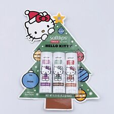Softlips Limited Edition Hello Kitty Holiday Natural Lip Balm Variety Pack