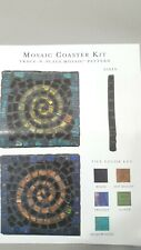Italian Authentic Mosaic Mercantile Coaster Kit Hobby Craft HandCrafted Art