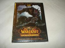 World of Warcraft- Cataclysm- Behind-the-Scenes DVD NEW