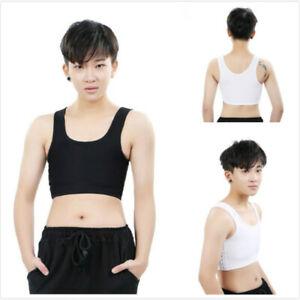 Lesbian Corset Chest Binder Underwear Tomboy Tank Top Undershirt Breathable