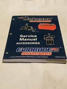JOHNSON EVINRUDE 1996 ED ACCESSORIES CONTROLBOX TRIM  O/B SERVICE MANUAL 507129