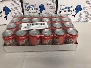 24 Mirinda Strawberry Soft Drink Cans 330ml