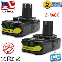 2X P102 For RYOBI P108 18V One+ 18 Volt XR Lithium Ion Extended Capacity Battery