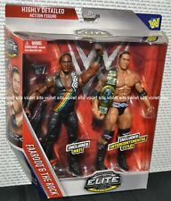 WWE Wrestling Exclusive 2-Pack Flashback Elite Figures Farooq & The Rock
