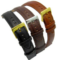 Verona XL Extra Long Padded Leather Watch Band 3 colours Sizes 16mm - 24mm D012
