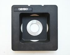 Cambo Large Format View Camera recessed lens board