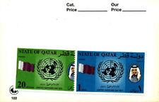 UNITED NATIONS DAY 1977 QATAR MNH