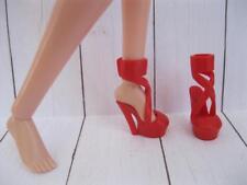 "Shoes fit MOXIE TEENZ 14"" TALL MT Dolls~RED High Heel Spike OT Dress-Up Sandals"