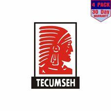 Tecumseh 4 Stickers 4x4 Inch Sticker Decal