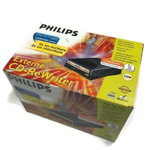 Phillips External IDE CD-ReWriter CDRW 400 series NEW SEALED