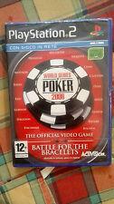 World Series Of Poker 2008 PS2 SIGILLATO ITA
