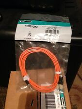 PANDUIT F5D2-3M2 50/125 MM OPTICAL FIBER PATCH CABLE DUPLEX SC TO SC