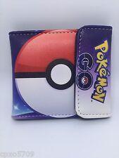 Pokemon Ball boy&girl cute wallet PU Leather Purses WALLET