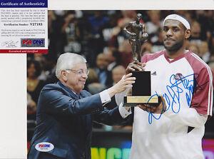 David Stern NBA Commissioner Signed Autograph 8x10 Photo PSA/DNA COA #1
