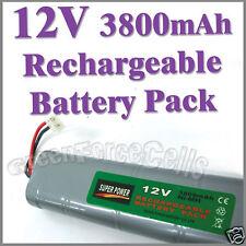 1 pcs 12V 3800mAh Ni-MH Rechargeable Battery Pack RC