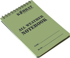 WATERPROOF PAPER NOTE PAD A6 Size NEW GRIDDED BOOK