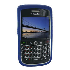 NEW OEM Dark Blue Gel Rubberized Skin Blackberry Onxy Bold 9700 9780