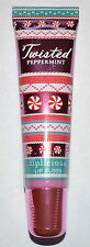 BATH & BODY WORKS LIPLICIOUS TWISTED PEPPERMINT LIP GLOSS SHINE CLEAR SHIMMER