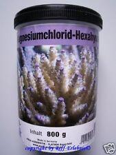 Magnesiumchlorid Hex. Preis Aquaristik 800g Meerwasser Aquarium 24,94€/kg