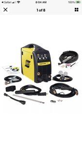 esab welder 3-1 141i 120 volt with tig