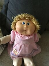 Vintage Cabbage Patch Doll Xavier signed 1982 in original dress