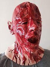 Bloody Severed Head Mask Zombie Dead Cadaver Latex Halloween Horror Fancy Dress