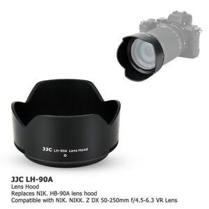Reversible Lens Hood fr Nikon Nikkor Z DX 50-250mm f/4.5-6.3 VR on Z50 as HB-90A