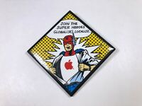 Vintage Apple Computer Macintosh Developer Pin Button - Globalise Localise