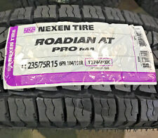 4 New LT 235 75 15 LRC 6 Ply Nexen Roadian AT Pro RA8 Tires