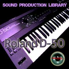 for Roland D-50 - unique original WAVE/Kontakt Multi-Layer Samples Library DVD