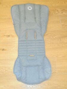 Bugaboo Bee 5 Seat Fabric, Grey Melange