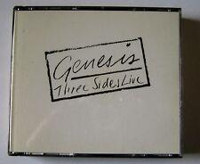 "GENESIS ""Three Sides Live"" GECD 2002  UK"