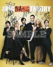 The Big Bang Theory signed cast 8x10 Autograph Photo RP - Free ShipN!
