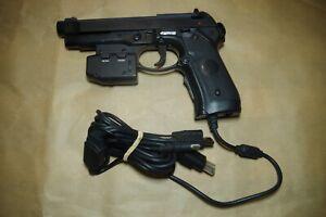 LIGHT GUN BLASTER PISTOL Beretta 92FS CONTROLLER multi platform xbox,pc, ps2...