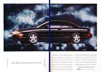 1994 1995 Chevrolet Monte Carlo 2-page Advertisement Print Art Car Ad K72