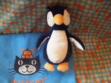 """Little Jellycat  navy  rattly Penguin  soft toy 7"""" approx J2927"""